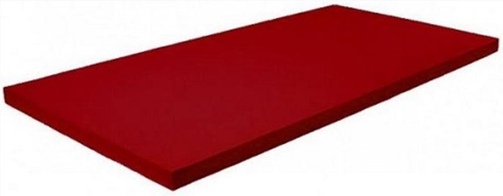 MATA TATAMI DAX• DeLuxe ® 1x2m 4cm 240kg/m3 IJF - Czerwona