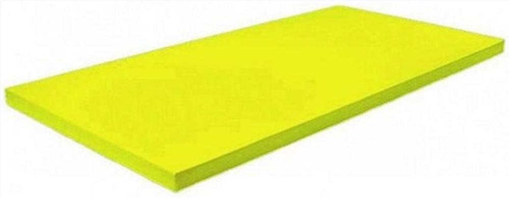 MATA TATAMI DAX• DeLuxe ® 1x2m 4cm 240kg/m3 IJF - Żółta